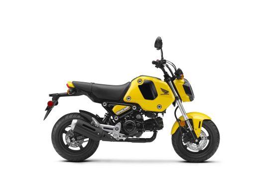 2022 Honda Grom Queen Bee Yellow RHP