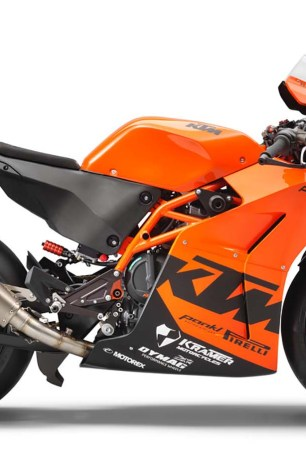 The KTM RC 8C Debuts as a Kramer with Wings