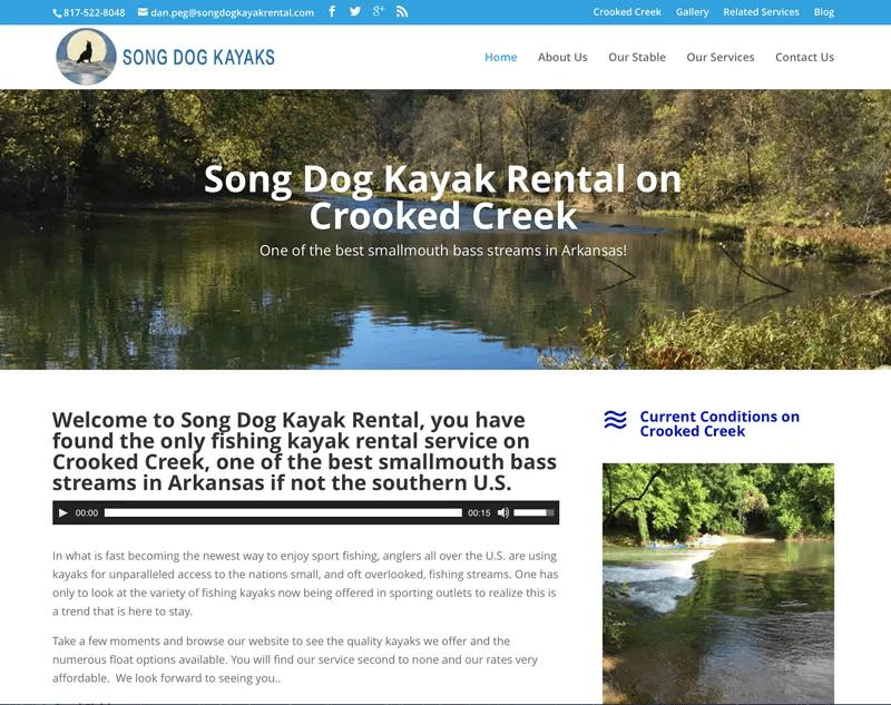 Song Dog Kayak Rental