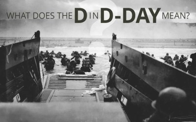 "What does the ""D"" in D-Day mean?"