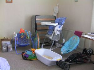 Second hand baby equiptment