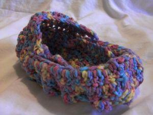 Crochet bassinet