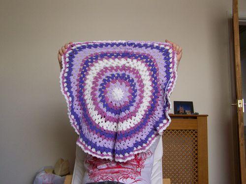Granny Mandala Lap Blanket