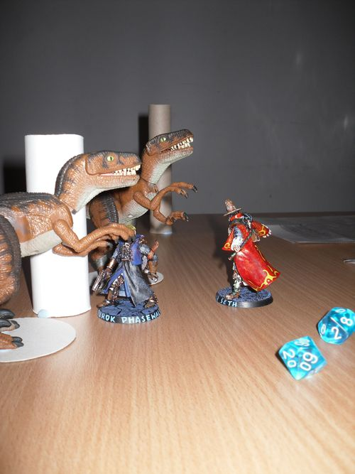 Inquisitor by Games Workshop dinosaurs