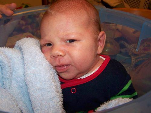 Little man looking cute