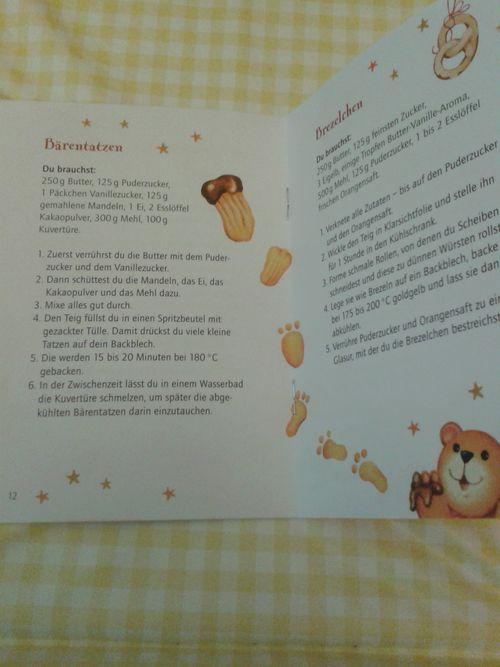 Leckere Plätzchen für Weihnachten German cookbook