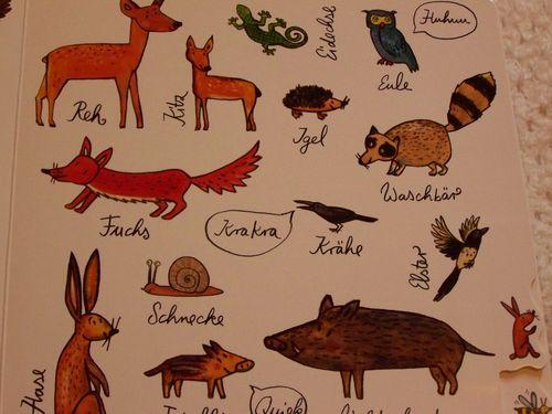 Schau mal, so viele Tiere German book animal image