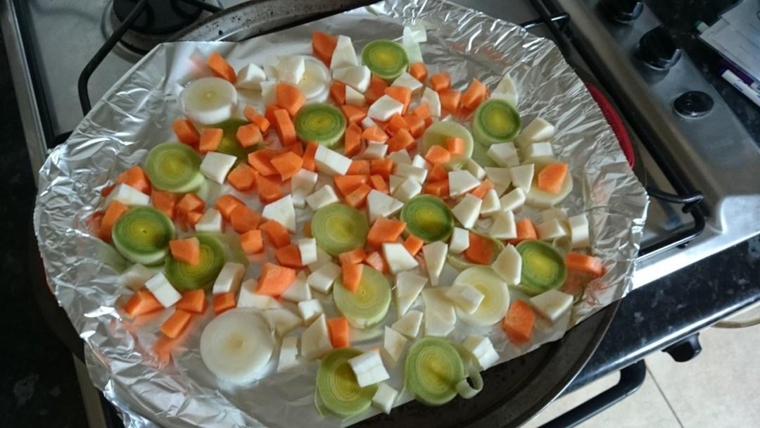 Roasted Vegetable Hot Pot - Step 2