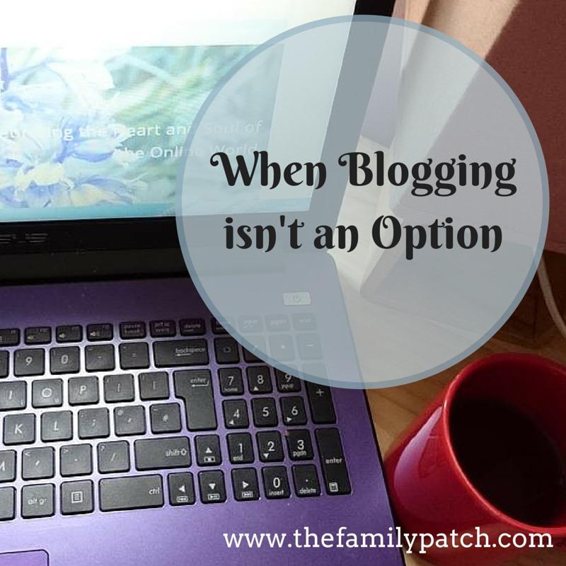When Blogging Isn't An Option