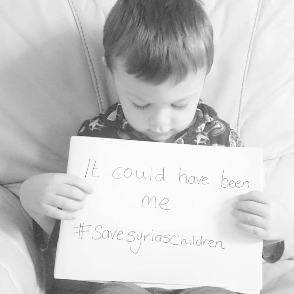 #savesyriaschildren It could have been me
