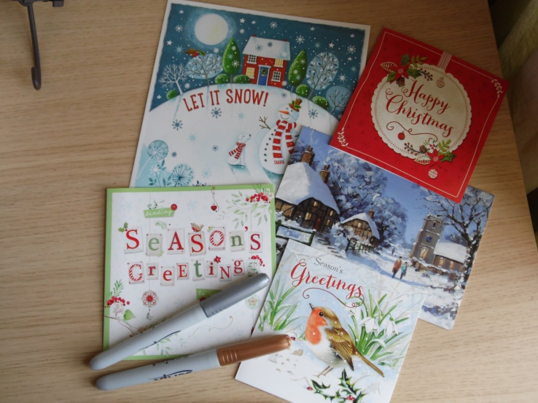 Sending Christmas Cards