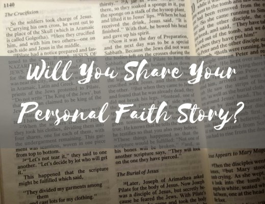 Share Your Personal Faith Story Book