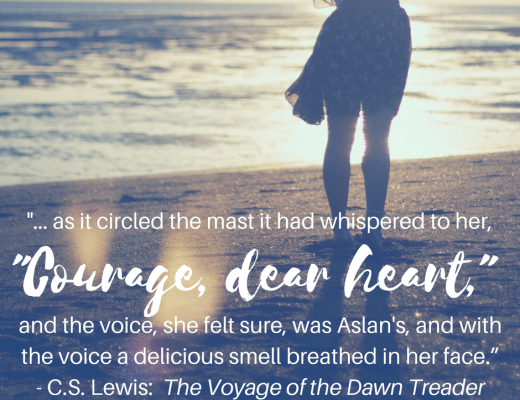 Courage, Dear Heart Word of the Year 2017