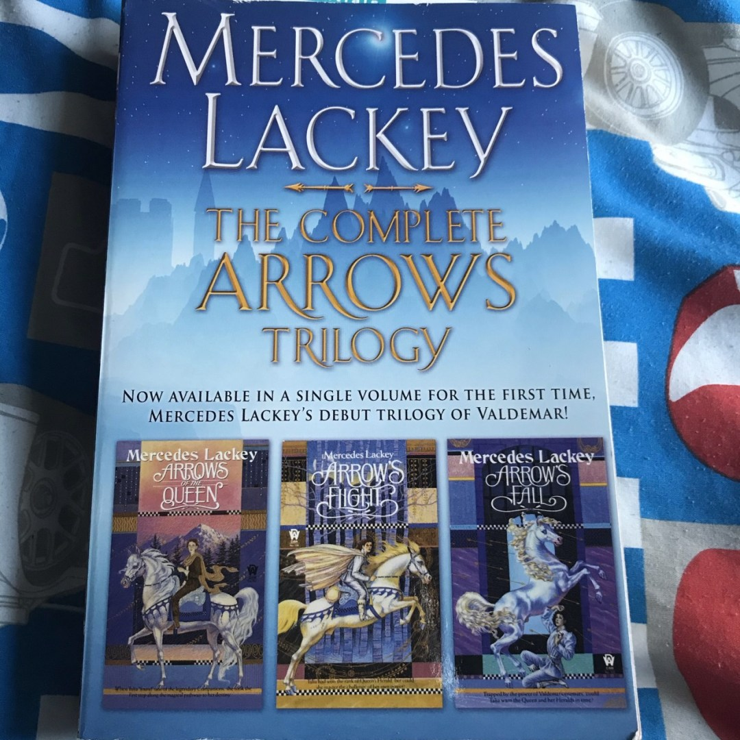 Image of a book called The Complete Arrows Trilogy by Mercedes Lackey
