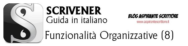 Scrivener guida italiano: funzionalità organizzative (8)