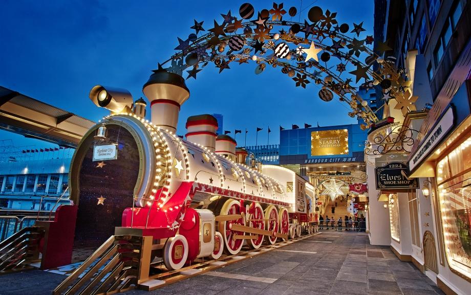 Starry Christmas Train Station Amp Shaun The Sheep