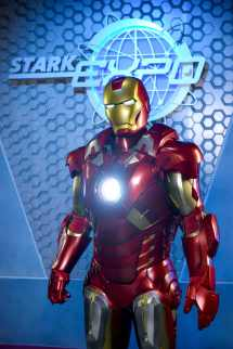 Hong Kong Disneyland Launches Iron Man Experience Early