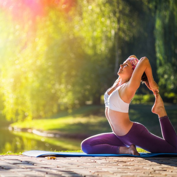 4 Simple Moves to Celebrate National Yoga Day