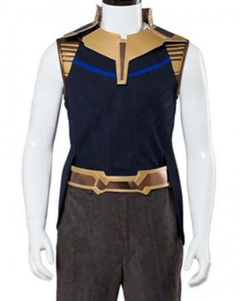 Josh Brolin Avengers Infinity War Leather Vest