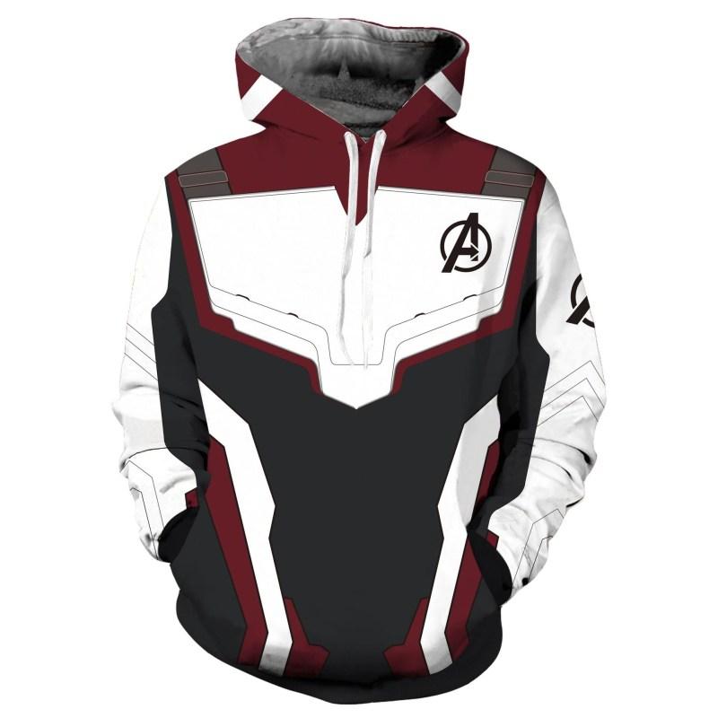 Avengers Endgame Quantum Realm Suit Sweatshirt Hoodie