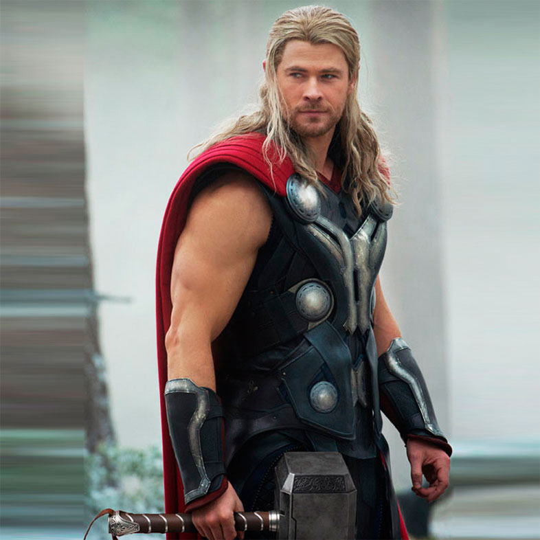 Avengers Age of Ultron Chris Hemsworth Thor Leather Vest