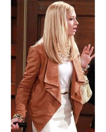 Caroline Channing 2 Broke Girls Jacket