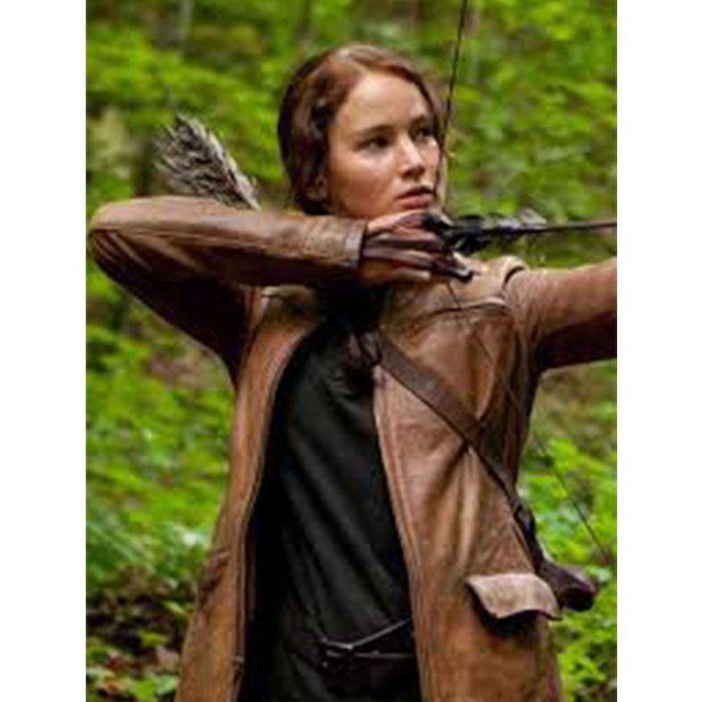 Hunger Games Jennifer Lawrence Katniss Everdeen Jacket