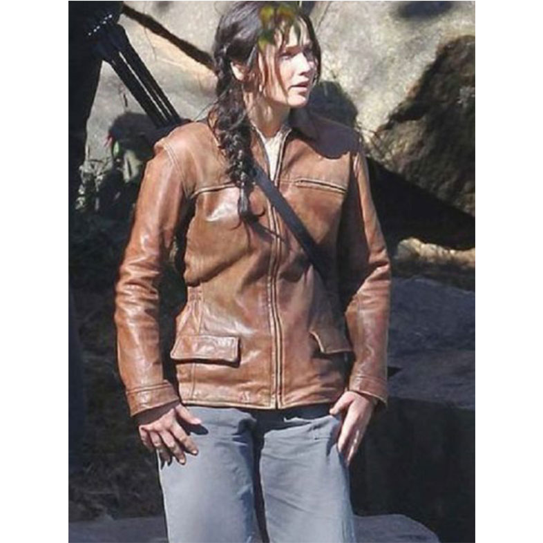 The Hunger Games Jennifer Lawrence (Katniss Everdeen) Jacket