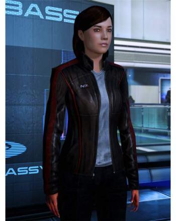 N7 Mass Effect Jacket for Women