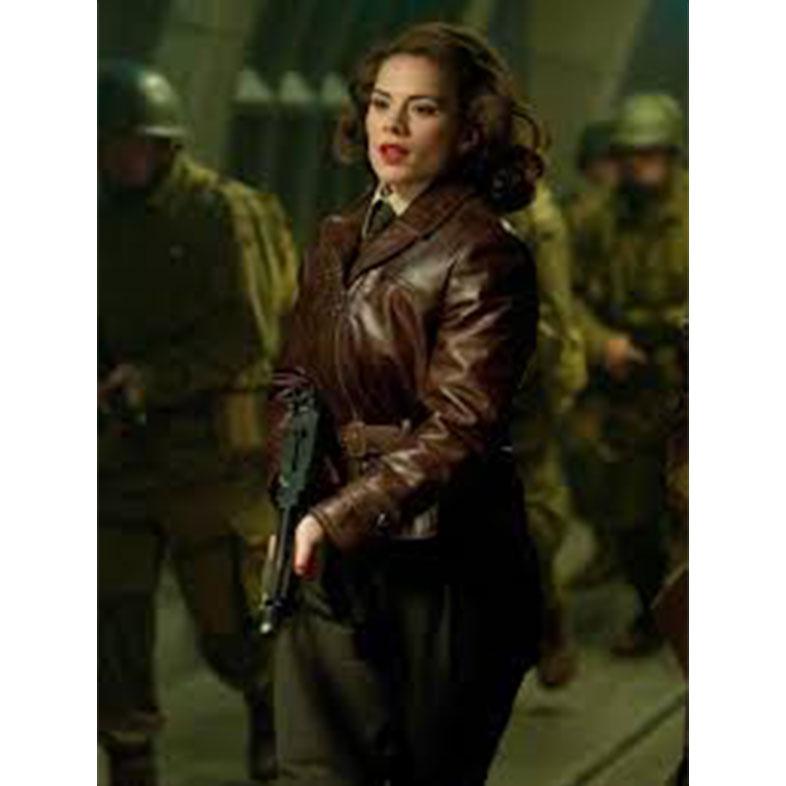 Captain America Peggy Carter Jacket