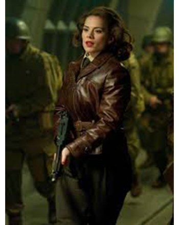 Captain America Peggy Carter Jacket