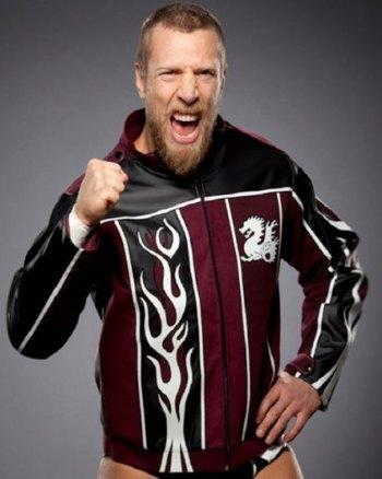 Wrestler Daniel Bryan Leather Jacket
