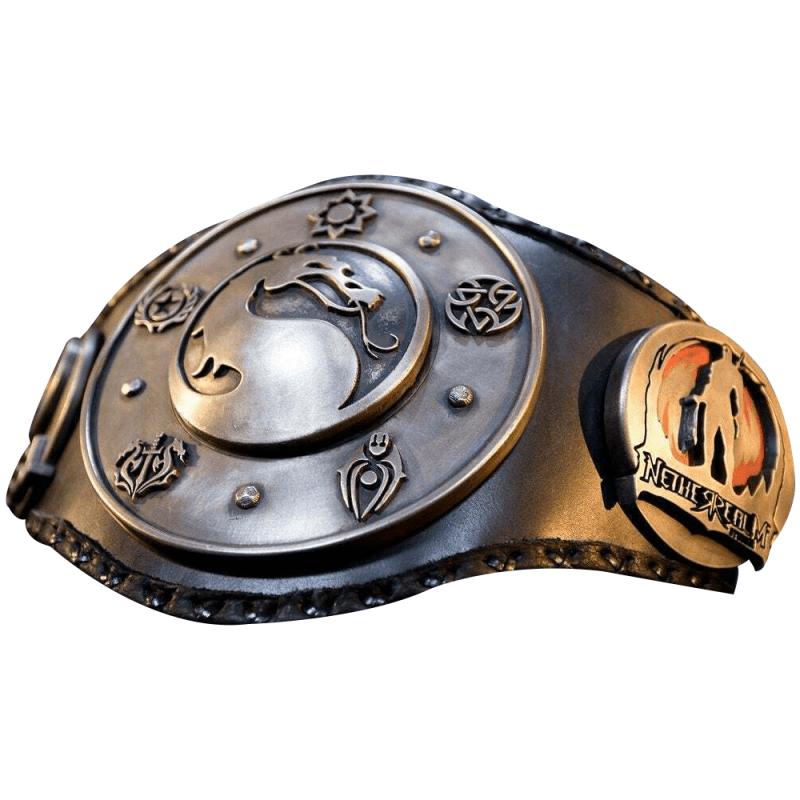 MKX Championship Belt 4MM Zinc Daul Layer
