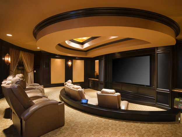 Designed by susan ferrier of mcalpine booth & ferrier interiors. Super Spaces: Create the Perfect Home Theater