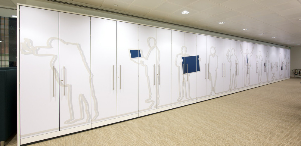 Aspire Office Solutions  Wall Storage Units