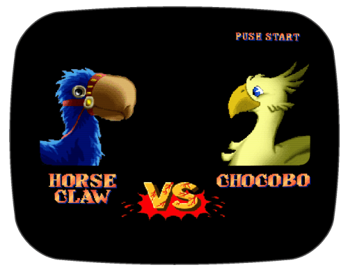 Horseclaw Vs. Chocobo