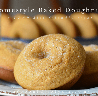 Homestyle Baked Doughnuts