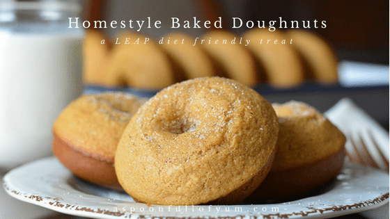 Homestyle Baked Doughnuts | A Spoon Full of Yum