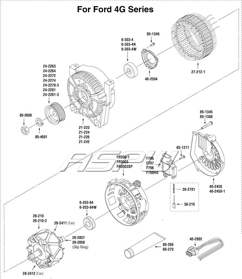 Ford Alternator PartsAlternator Parts, Starter Parts