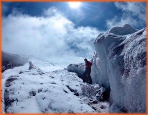 Abe Glacier Cotopaxi