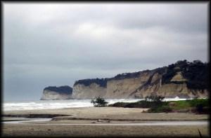 canoa beach long view
