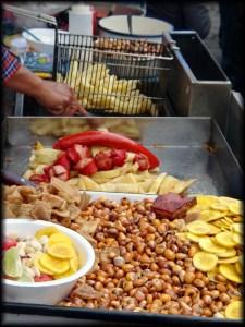 mama negra festival street snacks photo