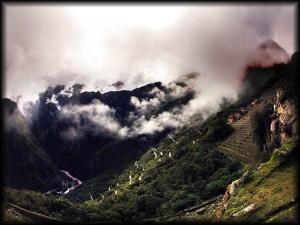 machu picchu valley view