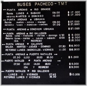 buses pacheco patagonia photo