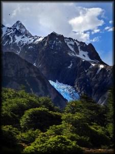 el chalten glacier photot