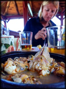 chile seafood soup auti photo