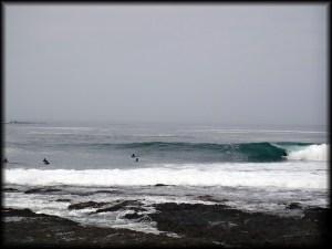Iquique wave barrel photo