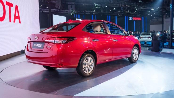 Toyota Yaris Sedan India 2018