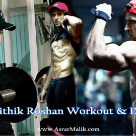 Hrithik Roshan Fitness Mantra Workout & Diet