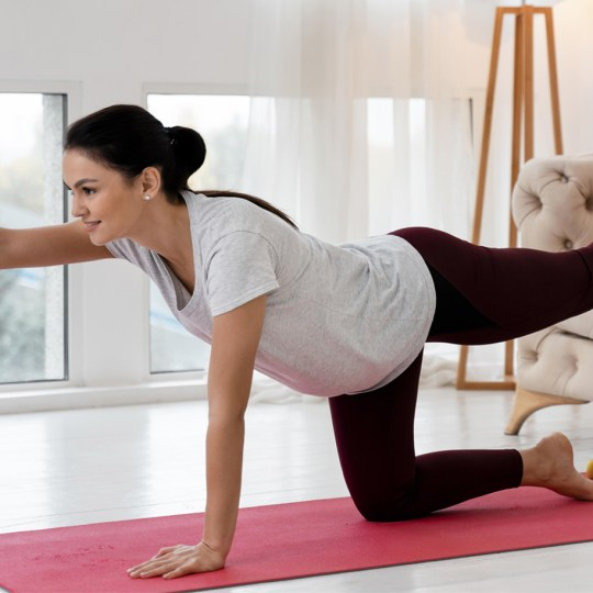Yoga during Thirs Trimester of Pregnancy